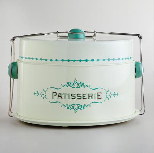 Cream Patisserie Cake Carrier - World Market
