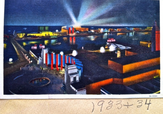 1933-34 Chicago World's Fair Postcard_2