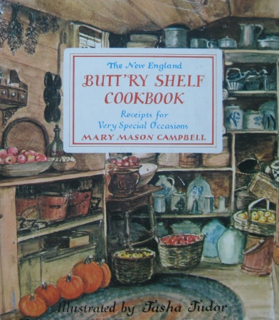 Butt'ry Shelf Cookbook cover