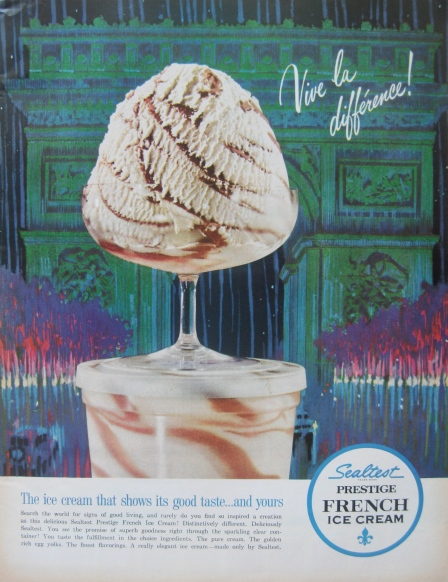 Sealtest French Ice Cream, 1962