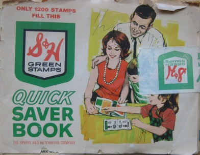 S&H Green Stamps Booklet