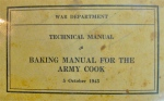 Baking Manual for the Army Cook